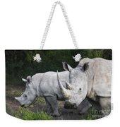 White Rhinos Weekender Tote Bag