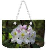 White Rhododendren Weekender Tote Bag