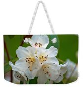 White Rhododendrons Weekender Tote Bag