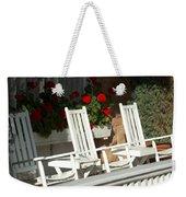 White Rockers Flower 21160 Weekender Tote Bag