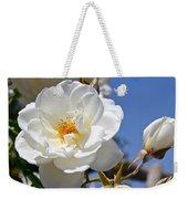 White Rose Weekender Tote Bag