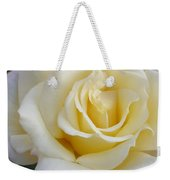 White Rose Named Ray Of Sun Weekender Tote Bag