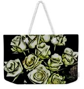 White Roses - Moving On Weekender Tote Bag