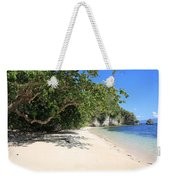 White Sand And Blue Sky Weekender Tote Bag