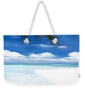 White Sand And Turquoise Sea Weekender Tote Bag