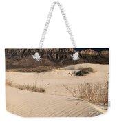 White Sand Below Weekender Tote Bag