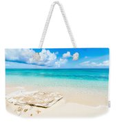 White Sand Weekender Tote Bag by Chad Dutson