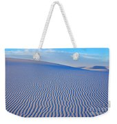 White Sand Patterns New Mexico Weekender Tote Bag by Bob Christopher