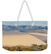 White Sands Morning #1 - New Mexico Weekender Tote Bag