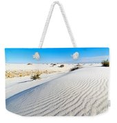White Sands - Morning View White Sands National Monument In New Mexico. Weekender Tote Bag