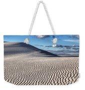 White Sands Patterns Weekender Tote Bag
