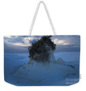 White Sands Turns Blue Weekender Tote Bag