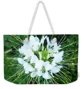 White Satellite Weekender Tote Bag