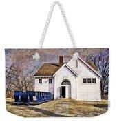White School 1929 - Lawrence Kansas Weekender Tote Bag