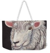 White Sheep Weekender Tote Bag