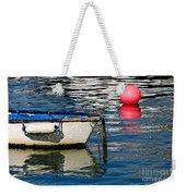White Skiff - Lyme Regis Harbour Weekender Tote Bag