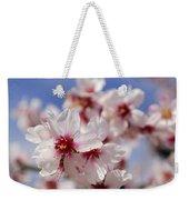 White Spring Almond Flowers Weekender Tote Bag