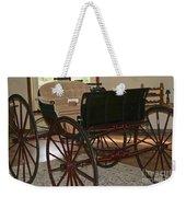 White Spring Carriage Weekender Tote Bag