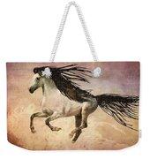 White Stallion Running Free  Weekender Tote Bag