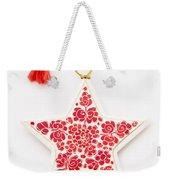 White Star Weekender Tote Bag