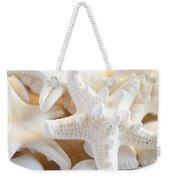 White Starfish 2 Weekender Tote Bag