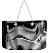 White Stormtrooper Weekender Tote Bag by David Doyle