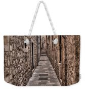 White Streets Of Dubrovnik No3 Weekender Tote Bag