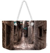 White Streets Of Dubrovnik No5 Weekender Tote Bag