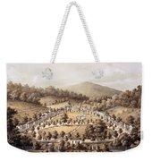 White Sulphur Springs, Montgomery County, Va Weekender Tote Bag