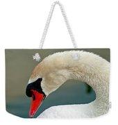 White Swan Profile Weekender Tote Bag