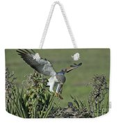 White-tailed Hawk At Nest Weekender Tote Bag