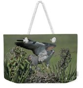 White-tailed Hawks At Nest Weekender Tote Bag