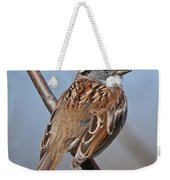 White-throated Sparrow Pictures 108 Weekender Tote Bag