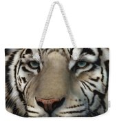 White Tiger - Up Close And Personal Weekender Tote Bag