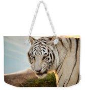 White Tiger At Sunrise Weekender Tote Bag