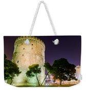 White Tower In Salonica Greece Weekender Tote Bag