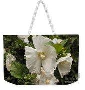 White Tree Flower Weekender Tote Bag