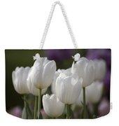 White Tulips 9169 Weekender Tote Bag