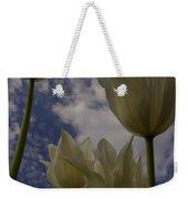 White Tulips Weekender Tote Bag