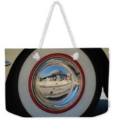 White Walls On A 49' Buick Weekender Tote Bag