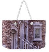 White Washed Weekender Tote Bag