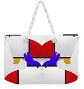 White Watch Weekender Tote Bag