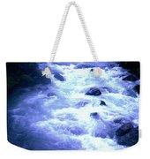 White Water Weekender Tote Bag by J D Owen