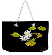 White Water Lilies Weekender Tote Bag