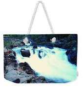 White Water On The Ohanapecosh River  Weekender Tote Bag