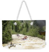 Animas River White Water Rafting The  Weekender Tote Bag
