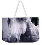 White Whisperer Weekender Tote Bag