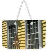 White Windows Yellow Wall Weekender Tote Bag
