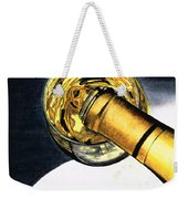 White Wine Art - Lap Of Luxury - By Sharon Cummings Weekender Tote Bag