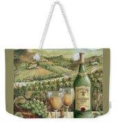 White Wine Lovers Weekender Tote Bag by Marilyn Dunlap